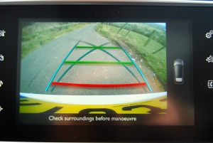 Peugeot 308 rear view camera
