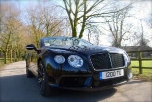 Bentley Continental GTC V8 front