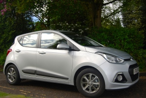 Hyundai i10 side