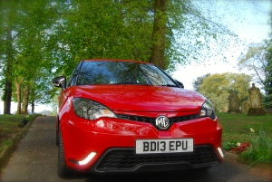 MG 3Form Sport front