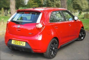 MG 3Form Sport rear 3-4