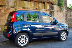 Fiat Panda side and rear