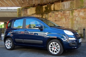 Fiat Panda side and front