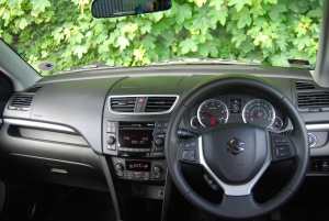 suzuki swift ddis interior