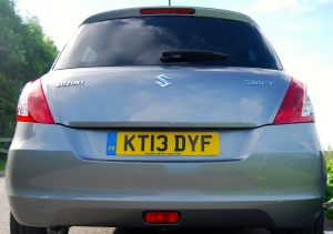 suzuki swift ddis rear