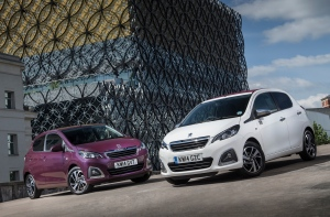 Sibling rivalry - the Peugeot 108