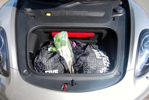 Porsche Cayman front boot