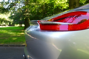 Porsche Cayman rear lip