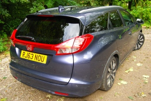 Honda Civic Tourer rear and side