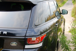 Range Rover Sport HSE rear and side