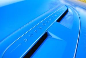 Jaguar XFR-S bonnet louvre