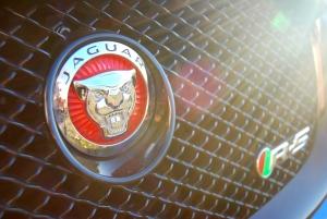 Jaguar XFR-S grille