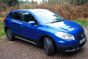 Suzuki SX4 S-Cross front and side