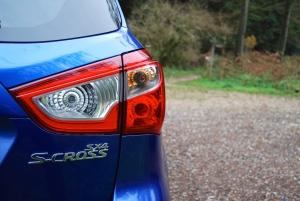 Suzuki SX4 S-Cross rear light